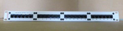"AVAYA 19""  24 PORT PATCH PANEL RJ45 Cat-5 700012909"